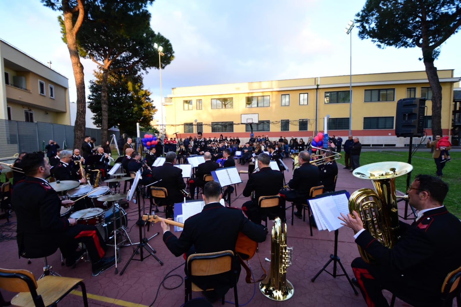 Percorsi di legalità 2a edizione : concerto della Fanfara dell'Arma dei Carabinieri
